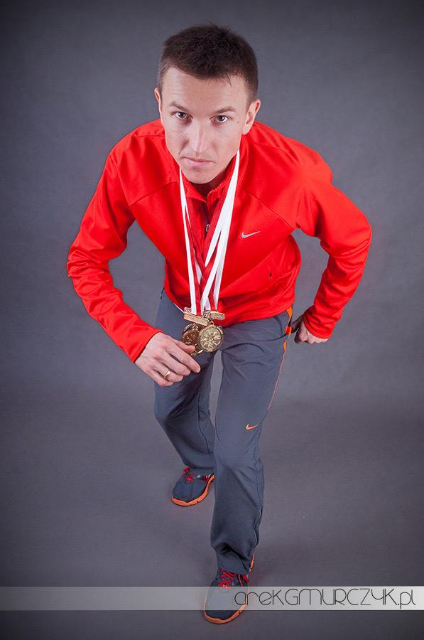 Mistrz Polski Mariusz Giżyński